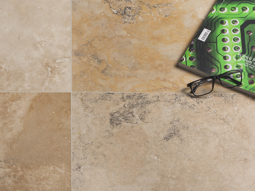 Nero Salbacos - Country Travertine